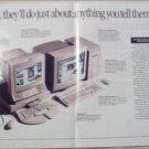 1993 Macintosh Centris 660 av and Quadra 840 av Computer ad