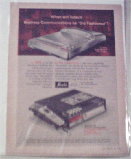 1968 Norelco 84 Dictator/Transcriber Machine ad