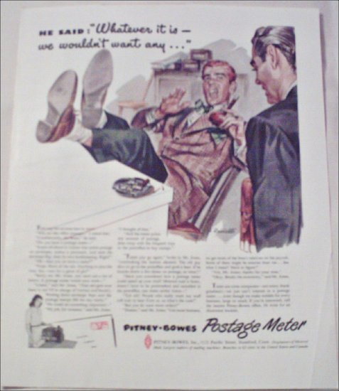 Pitney-Bowes Postage Meter ad #1