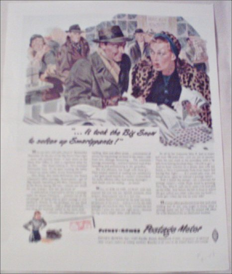 1948 Pitney-Bowes Postage Meter ad