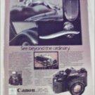 1983 Canon A-1 Camera ad