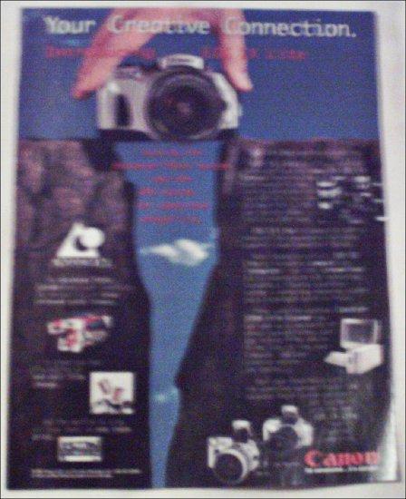 1998 Canon EOS IX Lite Camera ad