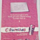2000 Celebrations Chocolates ad