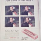 1947 Clarks Teaberry Gum ad #2