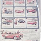 1957 American Motors Rambler Custom 4 dr stationwagon car ad