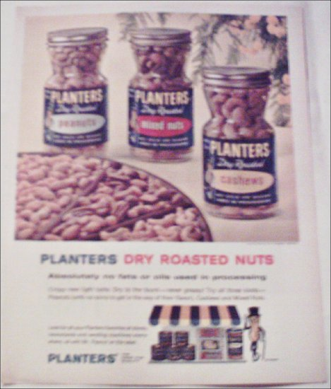 Planters 3 Kinds of Dry Roasted Peanuts ad #2