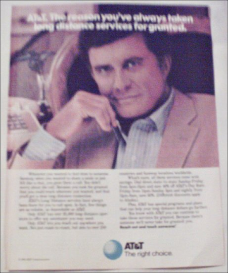 1985 AT&T ad featuring Cliff Robertson