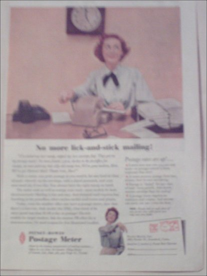 1958 Pitney-Bowes Postage Meter