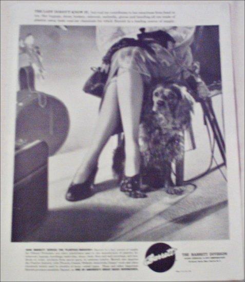Barrett Division Stockings ad