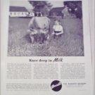 Barrett Division Milk ad