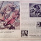 1960 Fairchild Cinephonic Movie Camera ad #1