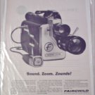 1962 Fairchild 8 mm Movie Camera