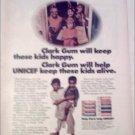1971 Clarks Gum Halloween ad