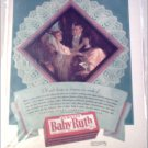 1929 Curtiss Baby Ruth Candy Bar Dreams ad