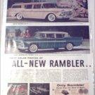 1958 American Motors Rambler & Ambassador Lineup car ad