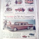 1959 American Motors Rambler Custom Bronze 4 dr sedan car ad
