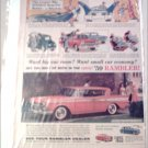 1959 American Motors Rambler Rebel V-8 CC 4 dr ht car ad