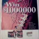 2000 Planters Peanuts $1,000,000 Contest ad