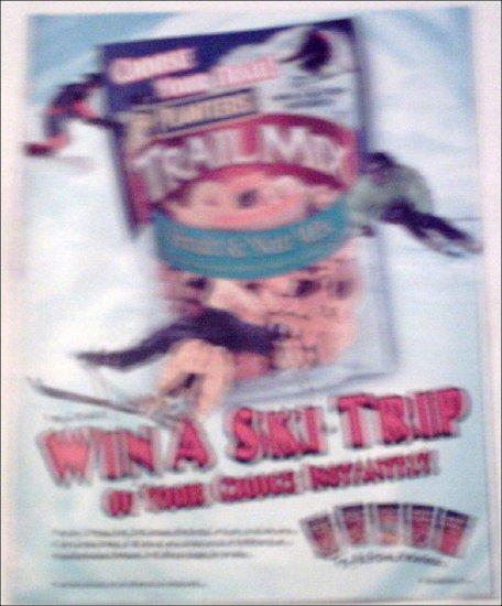 2000 Planters Trail Mix Ski Trip Contest ad