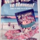 2000 Planters Trail Mix Hawaiin Trip Contest ad