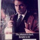 1982 Barclay Cigarette Champagne ad