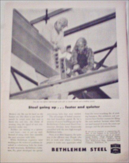 1954 Bethlehem Steel Construction ad