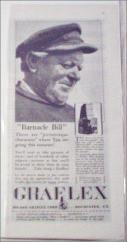 1921 Graflex Camera Barnicle Bill ad