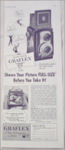 1953 Graflex 22 Camera ad