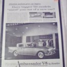 1959 American Motors Ambassador V8 4 dr sedan car ad
