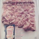 1969 Pringles Popcorn Chips ad