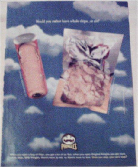 1998 Pringles Potatoe Chips ad