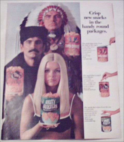 1969 Quaker Chips ad