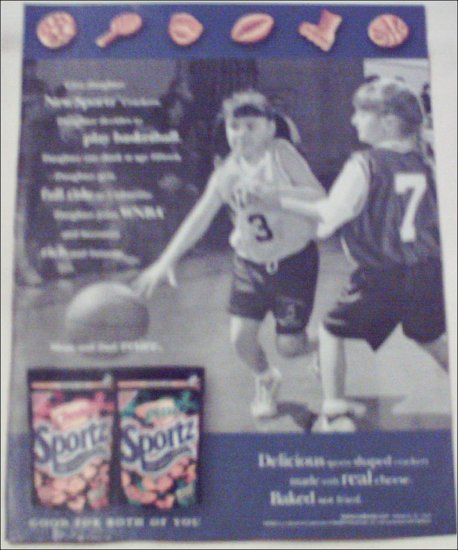 2000 Nabisco Sportz Crackers ad