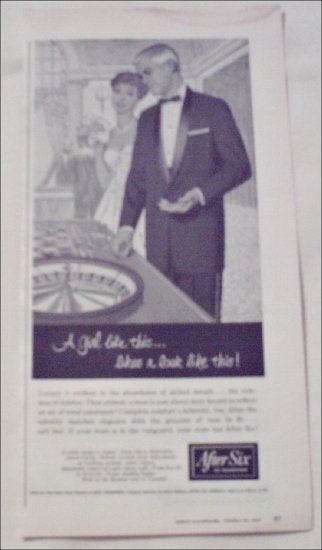 1958 After Six Formals ad
