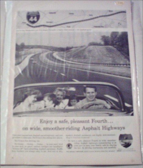 Asphalt Institute ad featuring I44