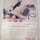 1953 Royal Electric Typewriter ad