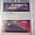 1958 Royal Futura Typewriter ad