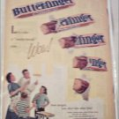 1961 Curtiss Butterfinger Candy Bar ad