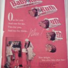 1961 Curtiss Baby Ruth Candy Bar Machine ad