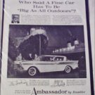 1959 American Motors Ambassador 4 dr ht car ad Ship