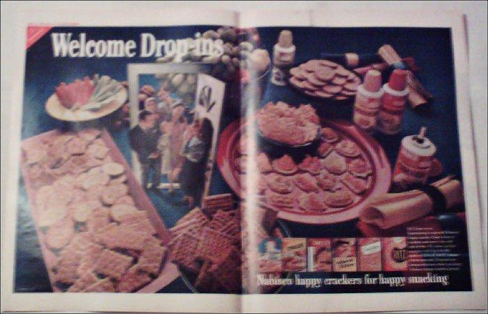 1969 Nabisco Happy Crackers ad