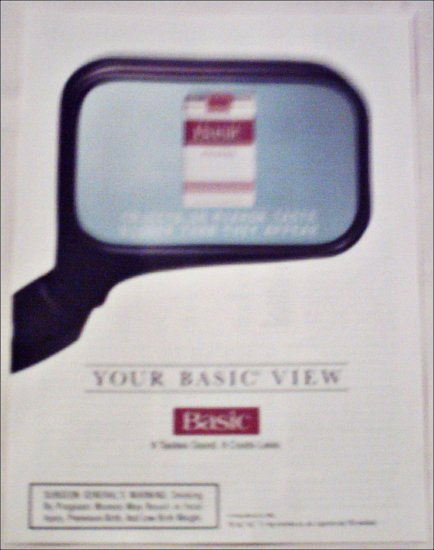 1994 Basic Cigarettes View ad