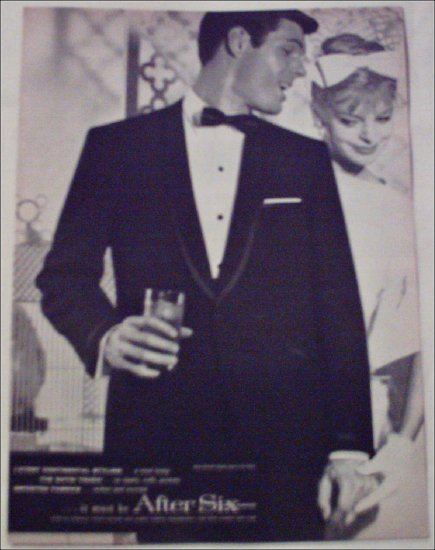 After Six Formals ad