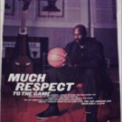 2001 Air Jordan XVI Shoe ad featuring Michael Jordan