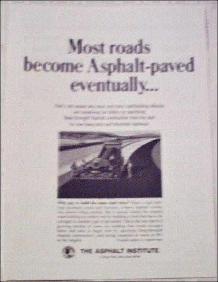 May 1965 Asphalt Institute of America ad