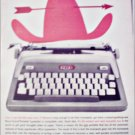 1960 Royal Futura Portable Typewriter ad