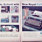 1959 Royal Futura Portable Typewriter ad