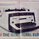 1960 Royal Electric Typewriter ad