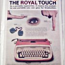 Royal Safari Typewriter ad