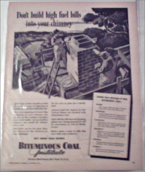 1944 Bituminous Coal Institute ad